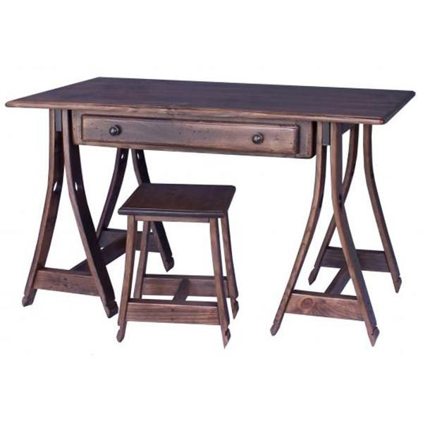 Wine Country Collection - Stave Horse Desk - WC165