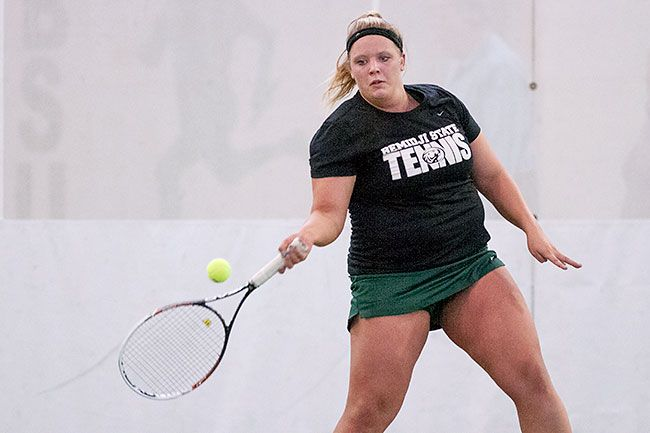 BSU tennis opened the 2015 home season today at the Gillett Recreation-Fitness Center. Check out out entire photo gallery for today's match: http://www.bsubeavers.com/wtennis/photos/2015/616/