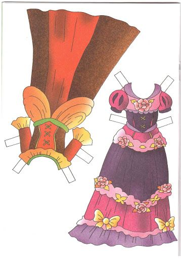 принцесса Алиса Розовый слон 2008 - Nena bonecas de papel - Picasa Web Albums
