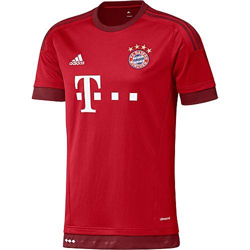 Maglia Home Replica Player FC Bayern München - Rosso adidas | adidas Italia
