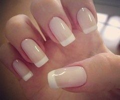 Colored French Manicure...love it!!! Will do a version with a Fall accent coming soon..if its not good, u wont see it..LOL