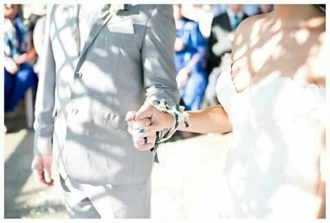 Hand fastening ceremony
