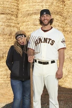Picture from Kimberly Hamner, on Buster Posey Fan Club site on Facebook. They are such a cute couple!!