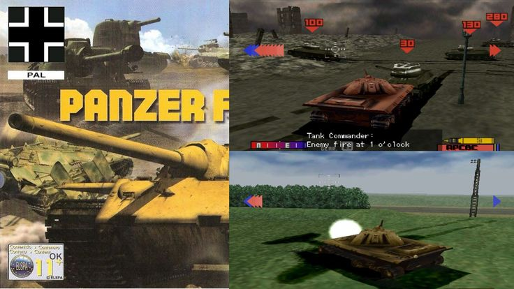 Best Tank simulator game - Panzer Front