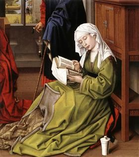 The Magdalene Reading - Rogier van der Weyden