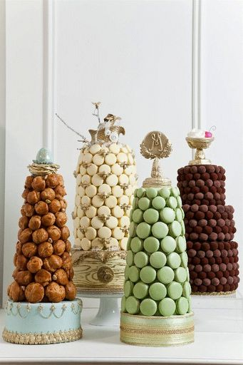 macaron towers? yes please