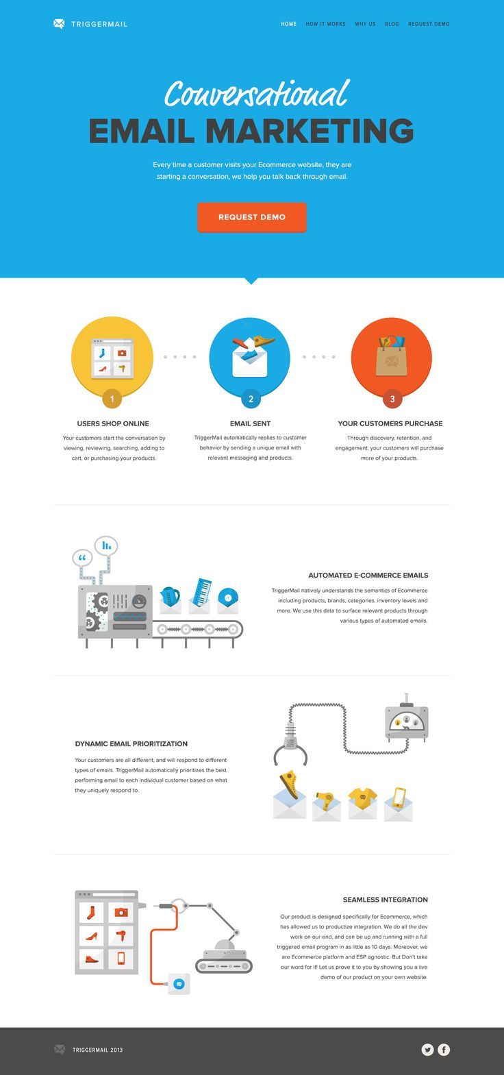 TriggerMail #webdesign #illustration