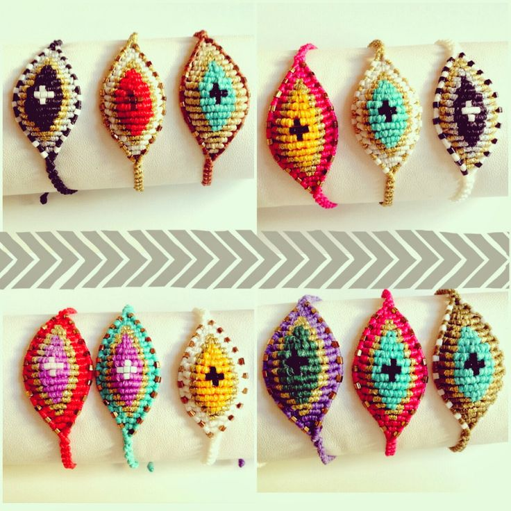 oh so cute things: Braided bracelets ♥