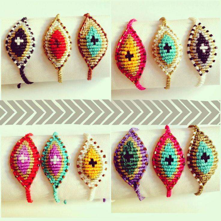 oh so cute things: Braided bracelets ♥