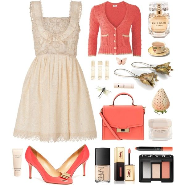 """""""Out for Saturday Brunch"""" by helen-shesterneva on Polyvore"""