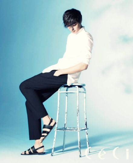 "Lee Min Ho - ""CÉCI"" Magazine Junio 2012"