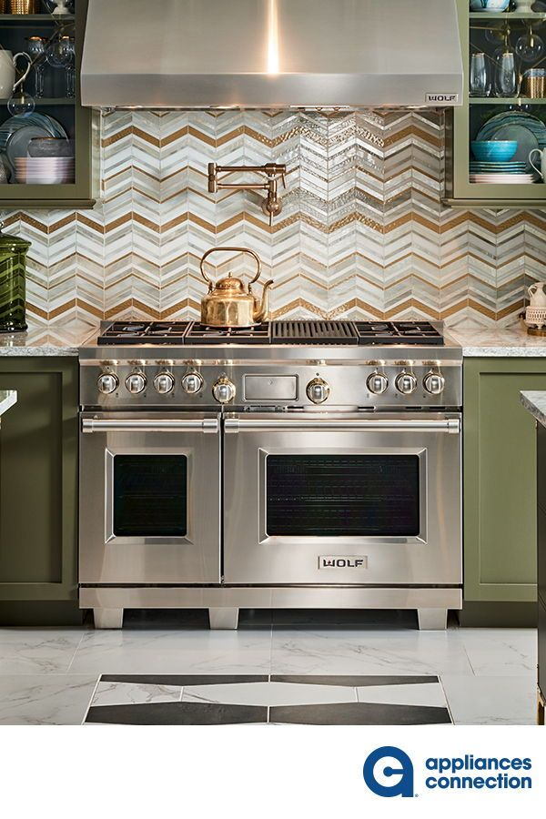 Wolf Gas Range Luxury Design Print Kitchen Decor Modern Luxury