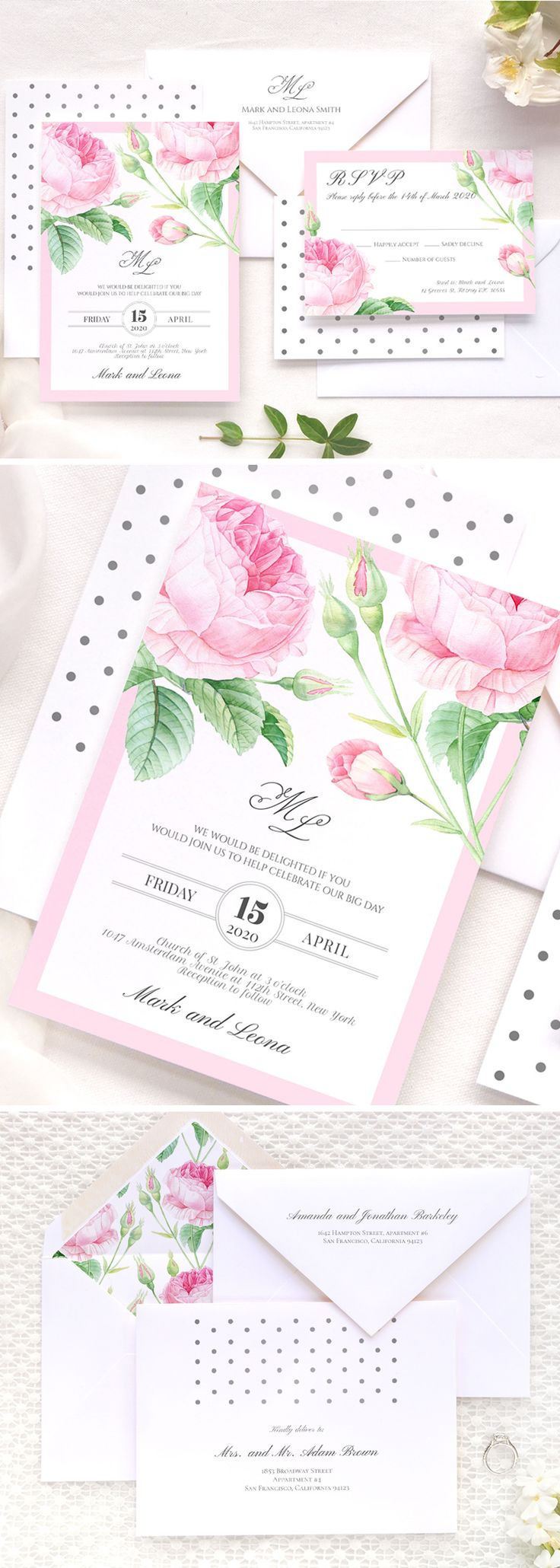 148 Best Wedding Invitations Images On Pinterest Wedding