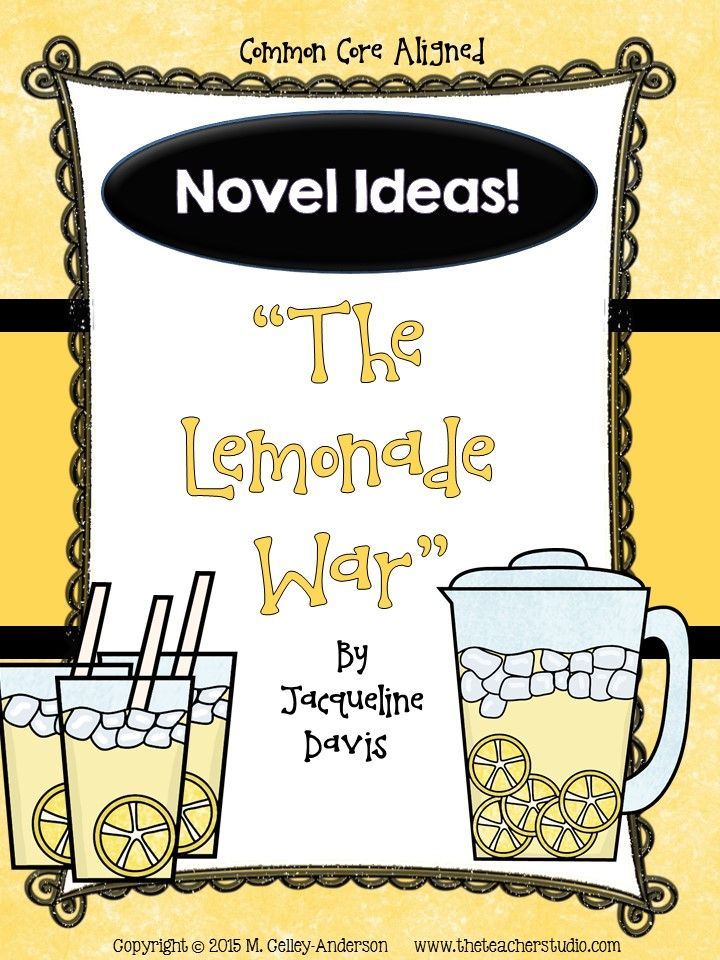 the lemonade war book activities