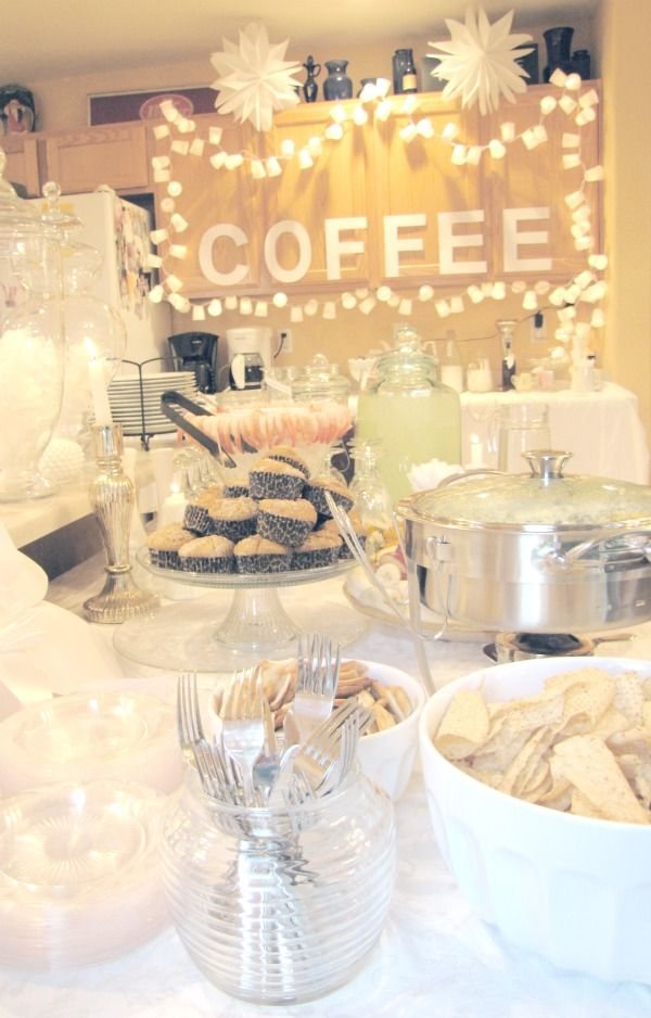 17 Best Ideas About Coffee Bridal Shower On Pinterest