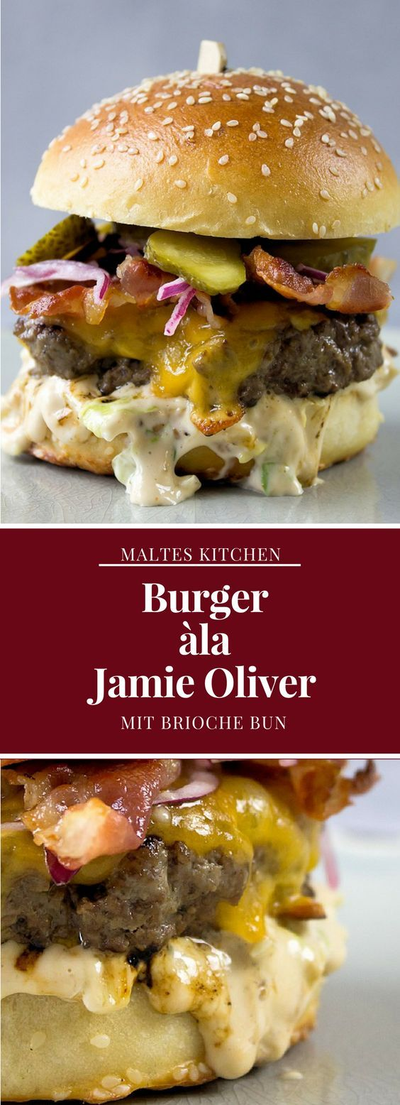Burger ála Jamie Oliver | #Rezept von malteskitchen.de