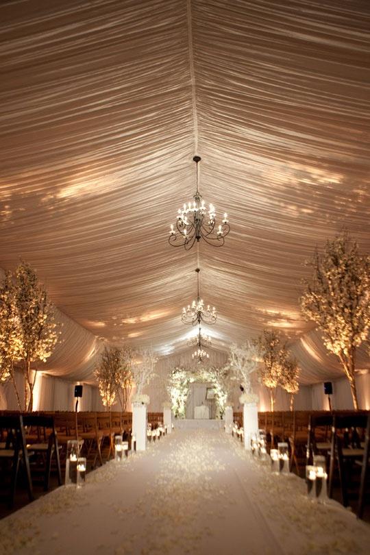 Amazingly dreamy ceremony space