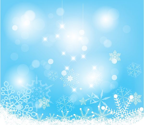 Snowflake background, pretty for a Frozen party.