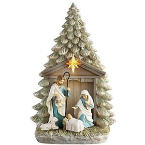 Holy Family Collectible Figurines Tree Nativity  | eBay