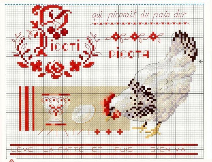 17 meilleures id es propos de oiseaux de point de croix - Veronique enginger grilles gratuites ...