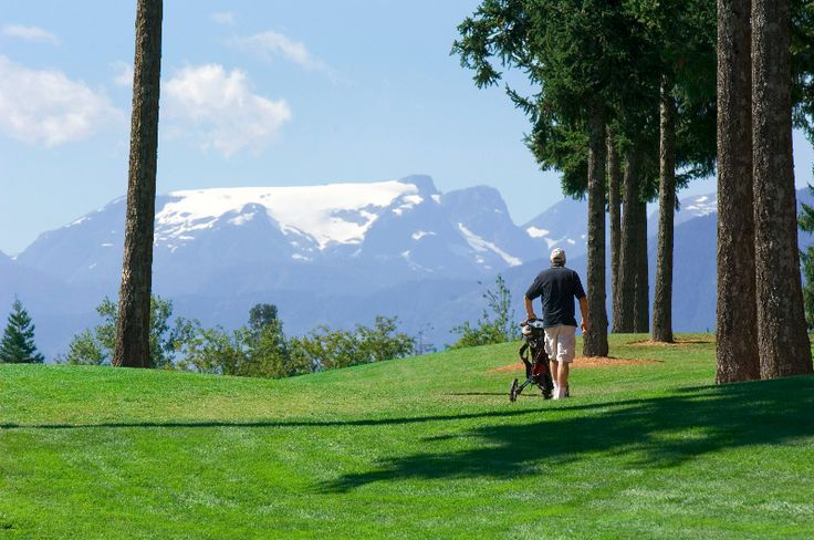 The view from Crown Isle's 9th hole is hard to beat.