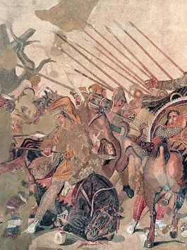 Battle of Issus  The Battle of Issus occurred in southern Anatolia, in November 333 BC between the Hellenic League led by Alexander the Great and the Achaemenid Empire, led by Darius III, in the second great battle of Alexander's conquest of Asia.