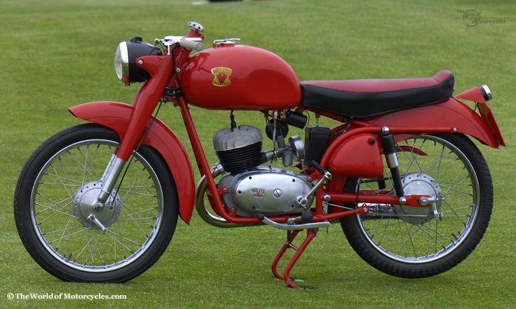 1955 Devil Vintage Italian Motorcycle Devil Super Sport 160 Italian Motorcycle from Bergamo, Italy Owner: Stewart Ingram, California