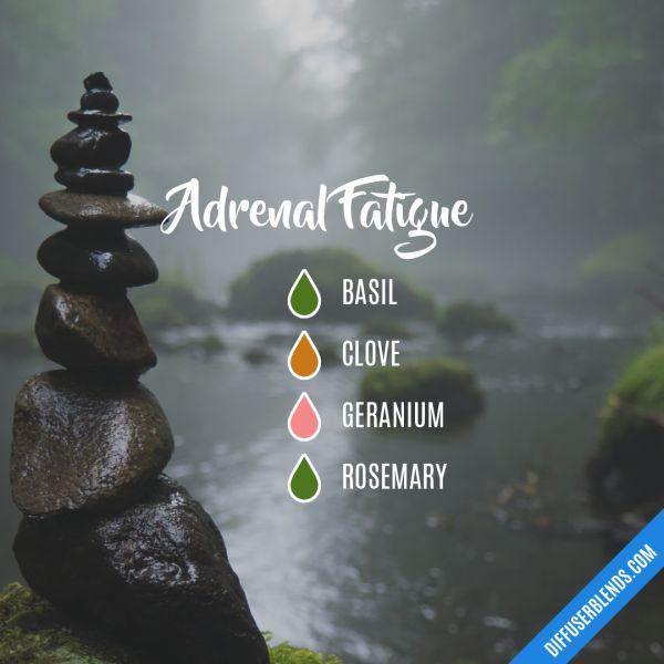 Adrenal Fatigue - Essential Oil Diffuser Blend