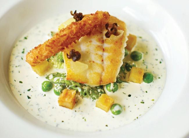 This tasty turbot with tartare sauce recipe comes from Michelin-starred Cornish chef Nathan Outlaw