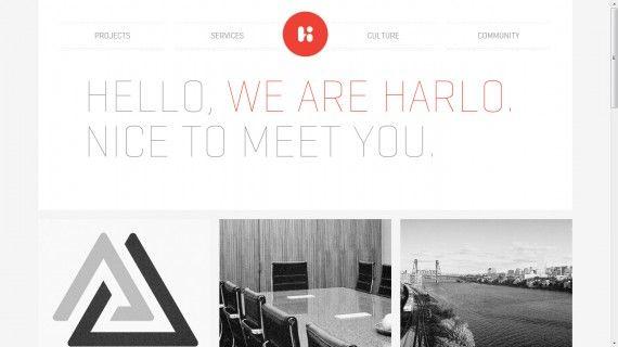 Website Portofolio Terbaik dengan Desain Keren - Harlo