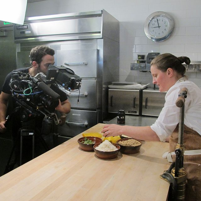 Making of the Mind of a Chef -- April Bloomfield loves food and wants it to look and taste juuuust right.