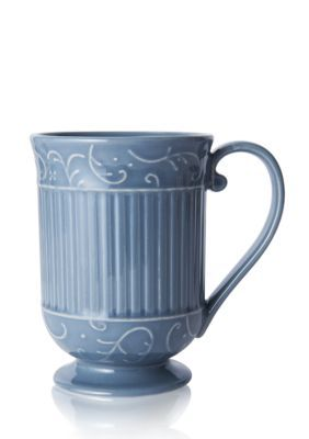 Mikasa  Italian Countryside Scroll Mug - Blue - One Size