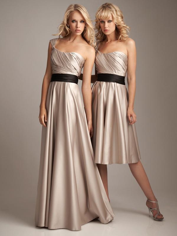 Plisowana sukienka na jedno ramię. Suknie Noviamor. BB1035