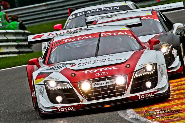 24h Spa Francorchamps 2011 - Audi R8 LMS GT3 #99