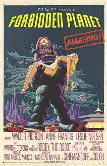 Forbidden Planet (1956) Poster
