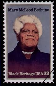 Mary McLeod Bethune   A relative descendant of hers will be on Our show this evening.   R/T & Share the timeline for details!
