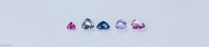 Triangle cut size chart #srisrisapphire #sapphire #gems #jewellery #srilanka #japan #australia