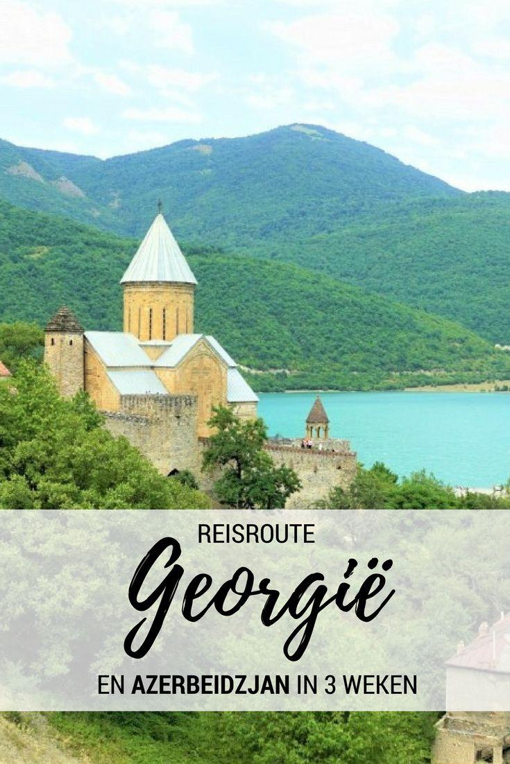 Backpacken op de grens van Azië en Europa? Dat kan met deze rondreis van 3 weken door Azerbeidzjan en Georgië! http://travelosophy.nl/reisroute-azerbeidzjan-georgie-3-weken/