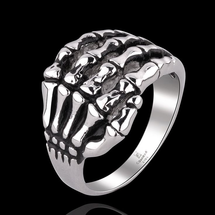 Vintage Style Skeleton Hands Shape Neutral Ring FREE SHIPPING !!!