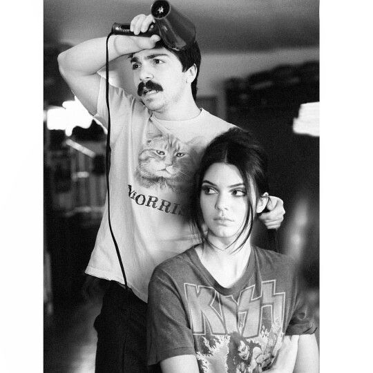 Kirby and Kendall Jenner lmfao