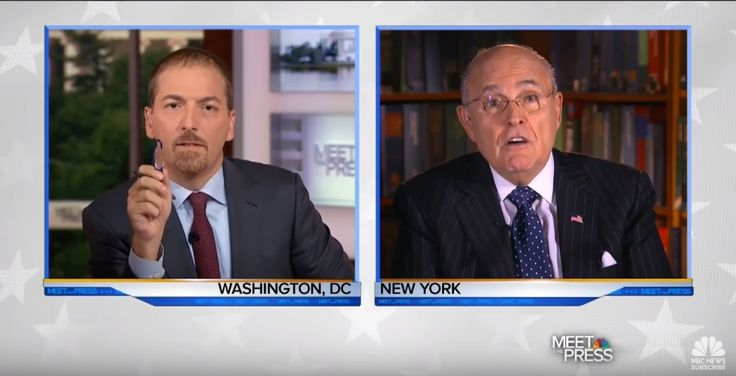 Chuck Todd Leaves Rudy Giuliani Tongue-Tied, Embarassed After Pointing Out His Hypocrisy