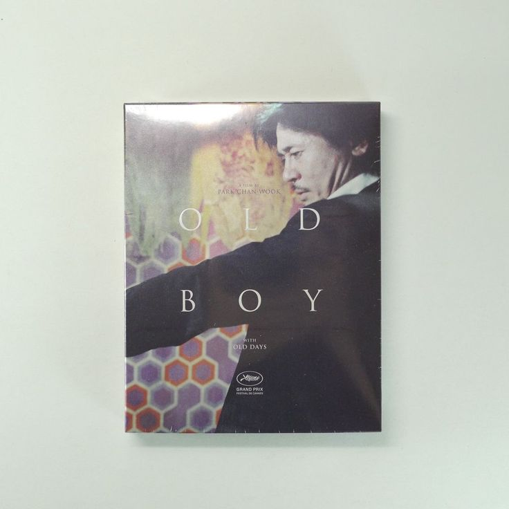 OLDBOY Blu-ray [Digitally Remastered Edition, Slip Cover, 60P. Booklet, Poster]