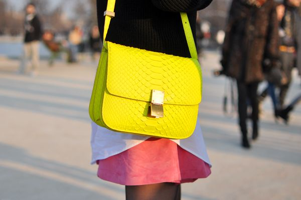 celine: Neon Bags, Celine Bags, Neon Handbags, Handbags Obsession, Yellow Bags, Neon Colors, Accessories Bags, Neon Yellow, While