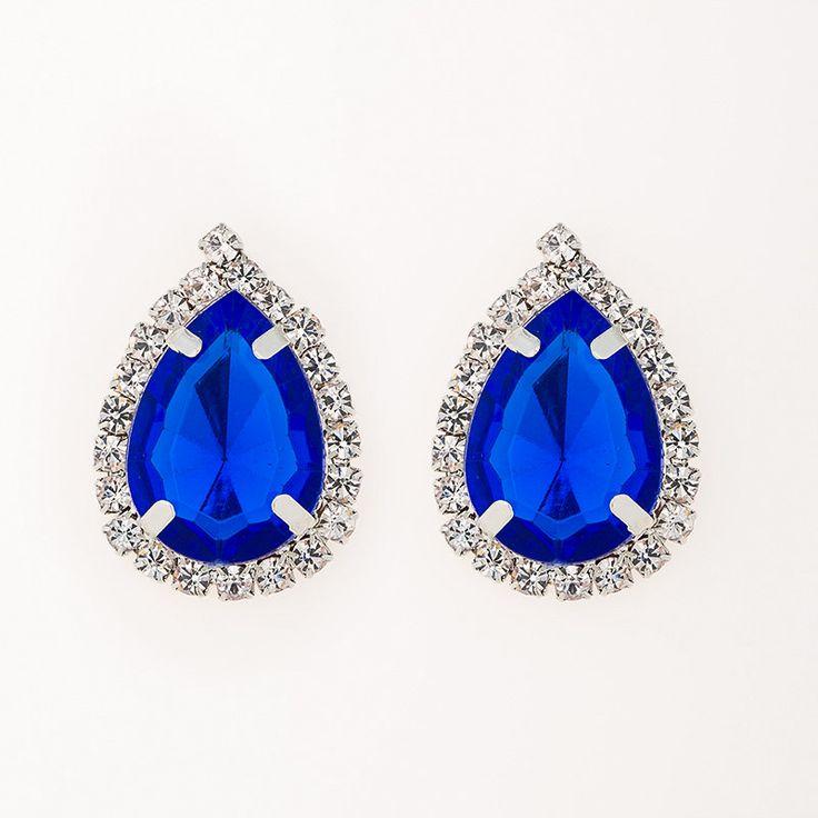 stud earring female fashion accessories large rhinestone sexy vintage #E035