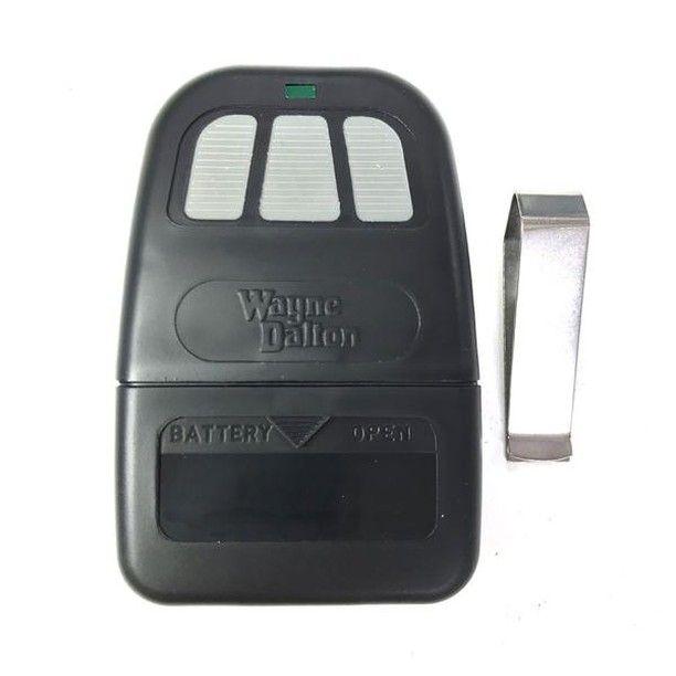 Wayne Dalton Remote Control Transmitter 303 Mhz 297134 309884 3 Button Remote For Wayne Dalton Wayne Dalton Garage Doors Garage Door Parts Garage Door Opener