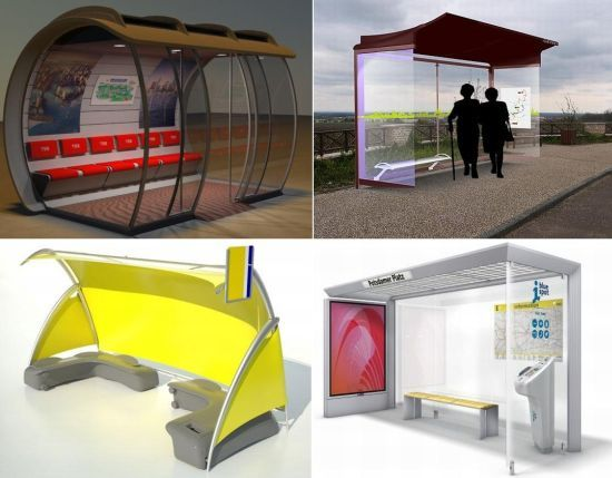 17 most interesting bus shelter designs