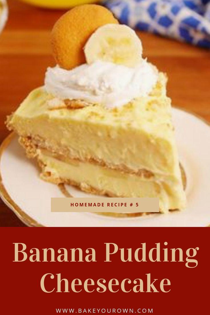 bananen pudding kuchen