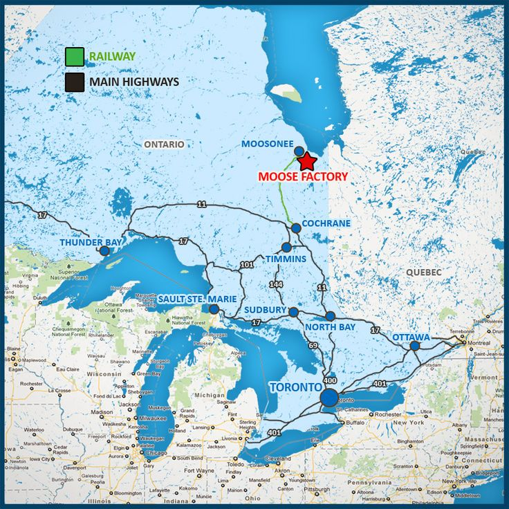 An ice-road is constructed every winter between Moosonee and Moose Factory and is usually operational from December to March. Description from moosecree.com. I searched for this on bing.com/images