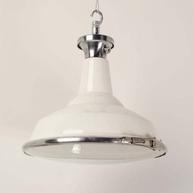White MOD Lights With Convex Glass