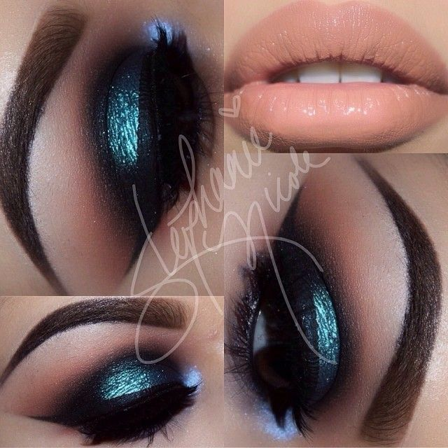 .@Stephanie Salinas | Late night inspiration Used Lumi pigment from @Sugarpill Cosmetics to show you how it … |
